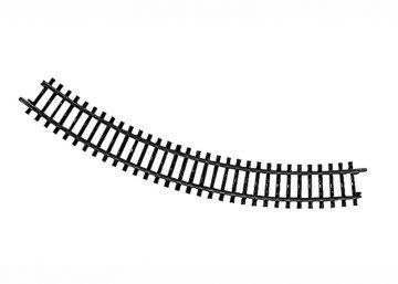 Gleis, gebogen, R 295,4 mm, 45° <br/>Märklin 02210 1