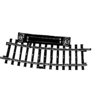 Schalt-Gleis, gebogen, r360 mm,15° Märklin 02229