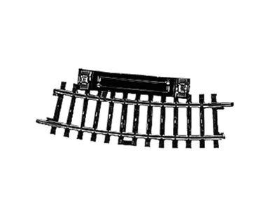 Schalt-Gleis, gebogen, r360 mm,15° <br/>Märklin 02229