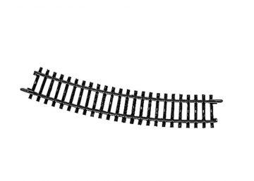 Gleis, gebogen, r 424,6 mm, 22°30′ <br/>Märklin 02232 1
