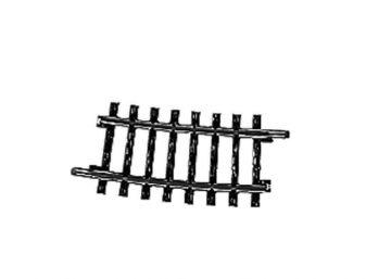 Gleis, gebogen, r 424,6 mm, 7°30′ <br/>Märklin 02234 1