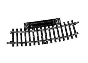 Schalt-Gleis, gebogen, r424,6mm,15° <br/>Märklin 02239