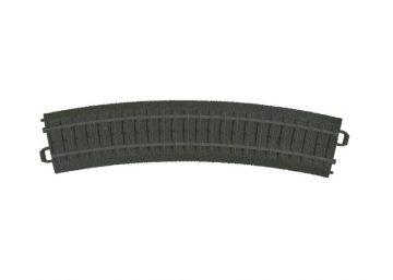 Gleis, gebogen, K-Gleis, R1, 6 Stück <br/>Märklin 023130 1
