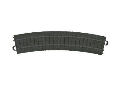 Gleis, gebogen, K-Gleis, R1, 6 Stück <br/>Märklin 023130