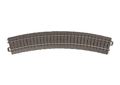 Gleis, gebogen, r 437,5 mm, 30° <br/>Märklin 024230