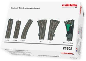Digitale C-Gleis Erg.pack.D2 <br/>Märklin 024802