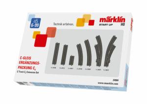 C-Gleis Ergänzungs-Packung C4 <br/>Märklin 024904