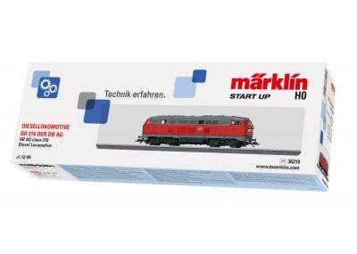 Diesel-Lokomotive BR 216 DB AG <br/>Märklin 036218