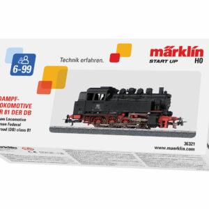 Tender-Dampf-Lokomotive BR 81 DB Märklin 036321