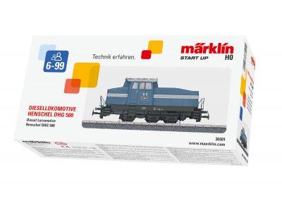 Diesel-Lokomotive DHG 500 <br/>Märklin 036501