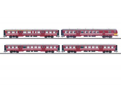 Nahverkehrswagen-Set M2 SNCB <br/>Märklin 043545