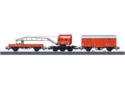 Feuerwehr Kranwagen-Set <br/>Märklin 044752