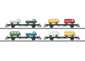 Autotransportwagen-Set VW-Bus <br/>Märklin 045082
