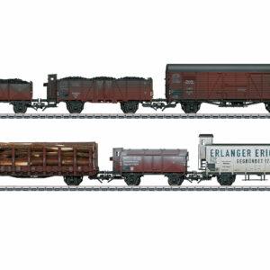 Güterwagen-Set, 6 Wagen, gealtert, DRG Märklin 046088