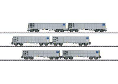 Hochbordwagen-Set SBB Cargo <br/>Märklin 046912