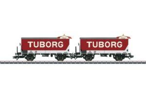 Bierwagen-Set Tuborg Ol DSB <br/>Märklin 048777