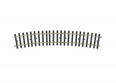 Gleis, gebogen, r 1176 mm, 22,5°(H1040 <br/>Märklin 059072