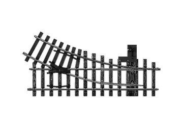 Weiche, mit manueller Bedienung, rechts, r600 mm, 30 <br/>Märklin 05966 1