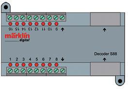Zubehör-Decoder s88 DC <br/>Märklin 060882 1