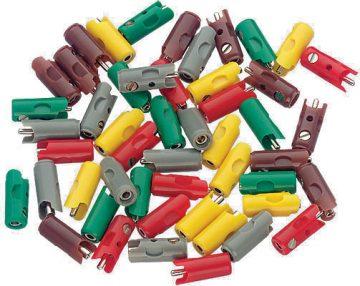 Stecker, rot, 10 Stück <br/>Märklin 071415 1