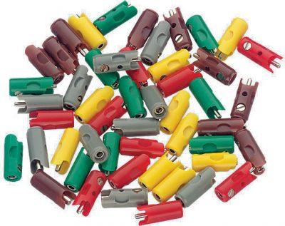 Stecker, rot, 10 Stück <br/>Märklin 071415