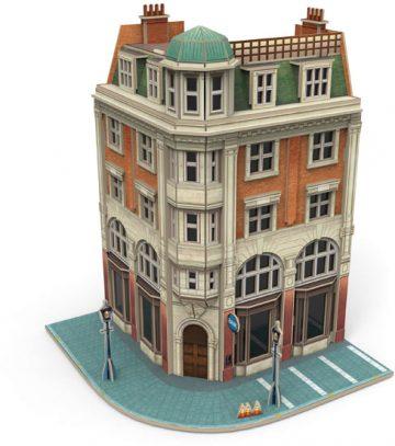 Gebäudebausatz Eckhaus Bank(P <br/>Märklin 072783 1