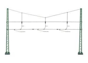Quertragwerk für 3 Gleise <br/>Märklin 074131