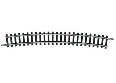 Gleis, gebogen, R5, 15° <br/>TRIX 14918
