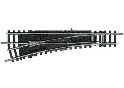 Weiche, mit manueller Bedienung, links, R4 <br/>TRIX 14938