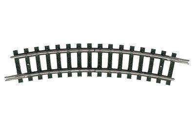 Trenn-Gleis, gebogen, R1 <br/>TRIX 14984