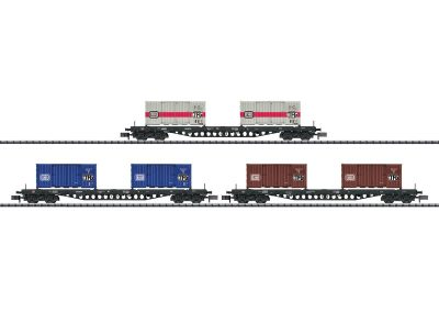 Güterwagen-Set Containertrans <br/>TRIX 15961