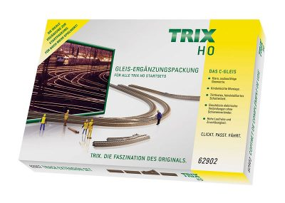 C-Gleis-Ergänzungs-Packung C2 <br/>TRIX 62902