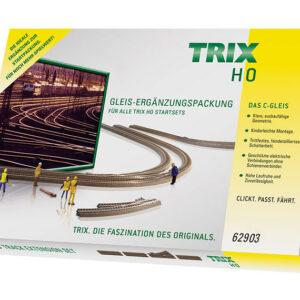 C-Gleis-Ergänzungs-Packung C3 TRIX 62903
