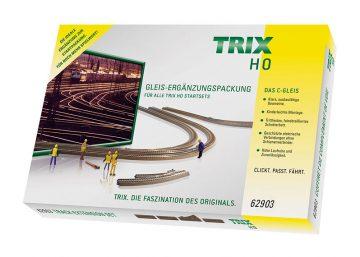 C-Gleis-Ergänzungs-Packung C3 <br/>TRIX 62903 1
