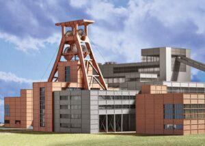 Bausatz Zeche Zollverein 1 <br/>TRIX 66310
