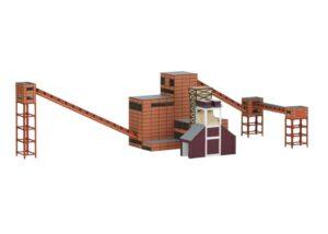 Bausatz Zeche Zollv.Kokerei 2 <br/>TRIX 66314