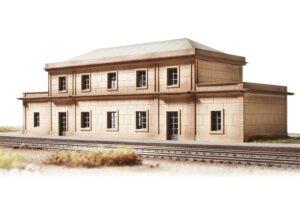 Bausatz Gare Auvers sur Oise <br/>TRIX 66330
