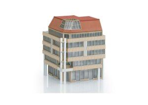 Bausatz City-Eckhaus <br/>TRIX 66331