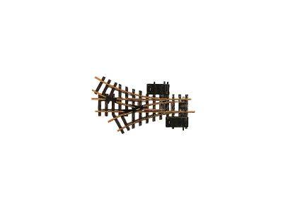 Weiche, 3-Wege, mit elektromagnetischem Antrieb, R1, 30° <br/>LGB 12360