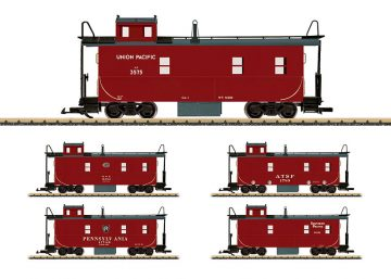 Caboose undecorated <br/>LGB 42793 1