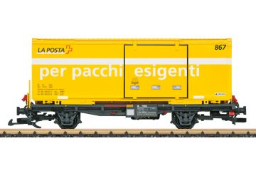 Post Containertragwagen RhB <br/>LGB 47893 1