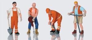Arbeiter-Figuren <br/>LGB 51404