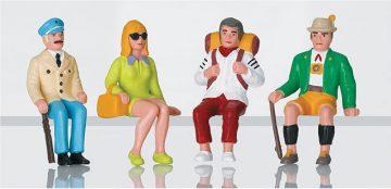 Touristen, sitzend <br/>LGB 51420 1