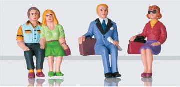 Reisende, sitzend, Set 2 <br/>LGB 52390 1