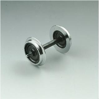 Metall-Scheibenradsatz, 2St