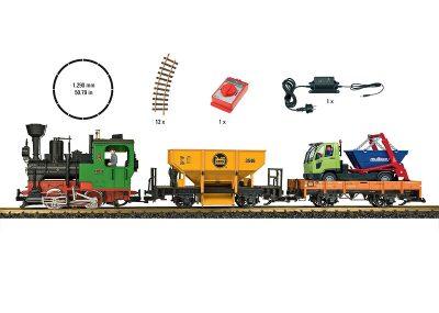 Güterzug Start Set Snd 230V <br/>LGB 70403