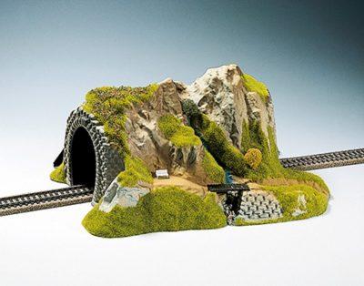 Tunnel 1-gleisig, gerade, 34 x 27 cm <br/>NOCH 02200