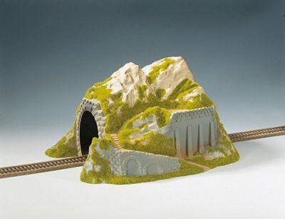 Tunnel 1-gleisig, gerade, 34 x 25 cm <br/>NOCH 02221