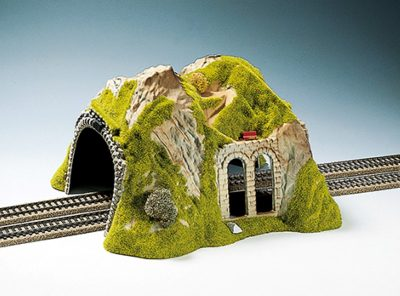 Tunnel 2-gleisig, gerade, 30 x 28 cm <br/>NOCH 02430