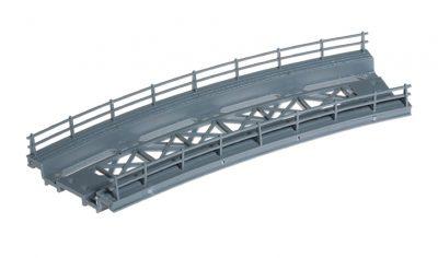 Brücken-Fahrbahn, gebogen, R 360 mm <br/>NOCH 21350